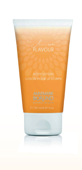 Lotion corps Sunset flavour