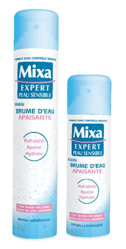 Mixa lance sa 1ère Brume d'Eau Apaisante pour les peaux sensibles