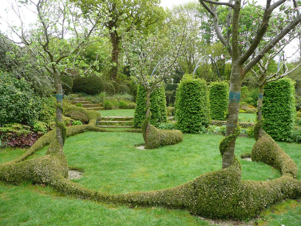 Le grand launay 22 480 lanrivain jardin for Grand jardin zen