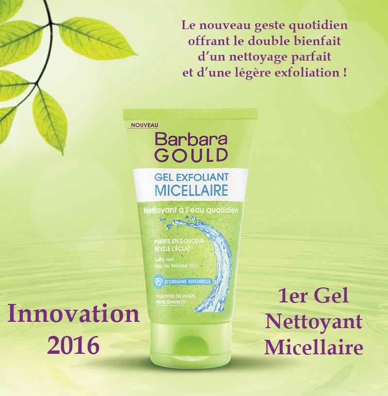 Focus sur la nouveauté 2016 : le Gel Exfoliant Micellaire