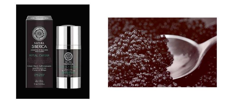 Crème Glacée Raffermissante pour les Yeux au caviar de Beluga