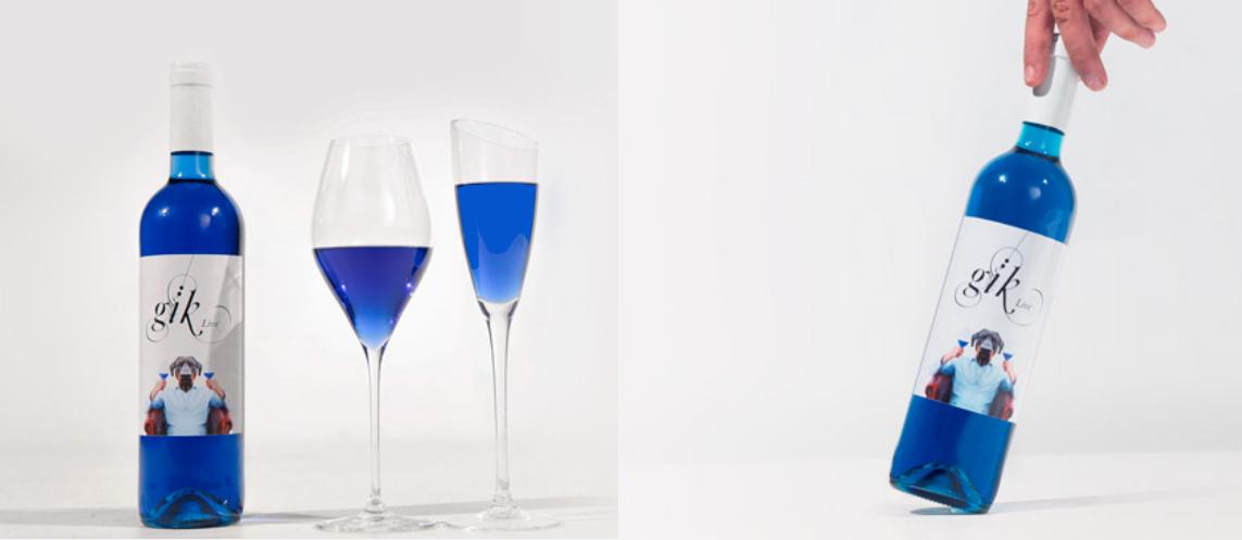 Vino Azul, un vin pour le amoureux du bleu et les geek!!